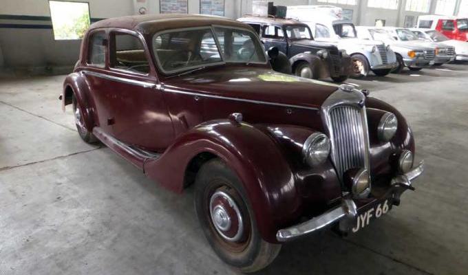 Riley RMA 4 DOOR SALOON